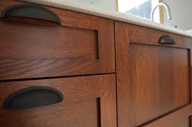 mission style kitchen cabinets diy stickley finish jeff jewitt method brown mahogany followed