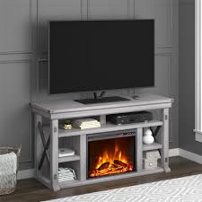 ameriwood furniture wildwood fireplace tv stand for tvs up to 60