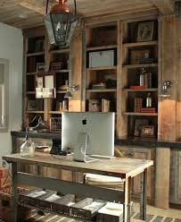 Rustic Home Interior by Trendy Home Offices That Are Surprisingly Functional Office