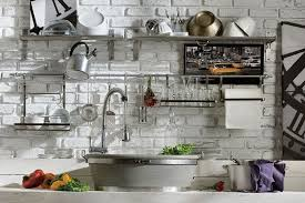Kitchen Metal Shelves by Living Room Metal Shelves For Kitchen Wall Throughout Design