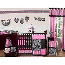Zebra Print Baby Bedding Crib Sets The Jojo Designs Funky Zebra Collection 9 Crib Bedding Set
