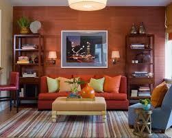 Orange Sofa Living Room Ideas Orange Sofa Decor On Orange Sofa Interior Design Winsome