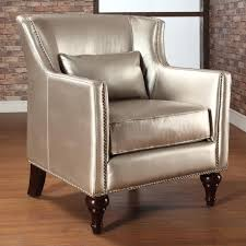 Overstock Leather Chair Trenton Gold Metallic Silver Arm Chair Free Shipping Today