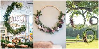 how to make large hula hoop wreaths for diy large wreaths