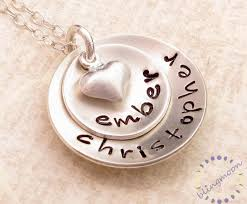 custom engraved necklace pendants personalized necklace sted jewelry custom engraved