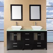 Vanities For Bathrooms Lowes Adorna 61 Sink Bathroom Vanity Set Solid Wood Cabine