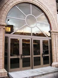 Aluminum Exterior Door Commercial Entrance Doors Exterior Aluminum Entry Door