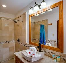 framed bathroom mirrors ideas doherty house hang a framed