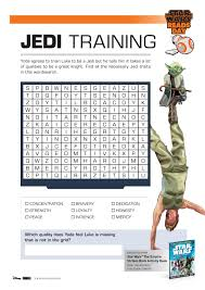 printable star wars activity sheets star wars jedi word search