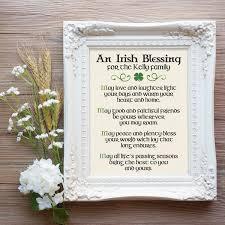 irish thanksgiving prayer irish blessing print irish couple gift irish prayer irish