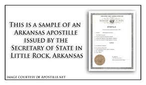 arkansas apostille apostille service by apostille net