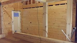 log home interior walls small log cabin construction part 13