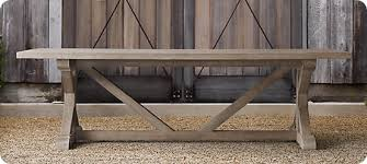build your own table diy trestle table build your own trestle farmhouse table evein galls