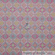 Shabby Chic Upholstery Fabric by Denim Blue Small Decorative Dot Country Cabin Damask Upholstery