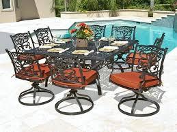 Aluminum Outdoor Patio Furniture Luxury Aluminum Patio Dining Set And Aluminum Outdoor Dining Sets