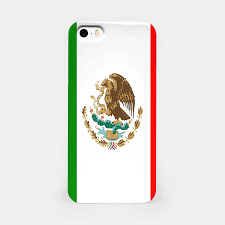 Mexican Flag Cartoon Flag Of Mexico Iphone Case Live Heroes