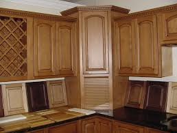 Corner Hutch Cabinet Hutch Style Kitchen Cabinets Home Design Ideas