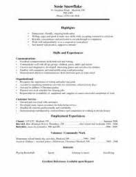 simple resume exles for resume exles for college students