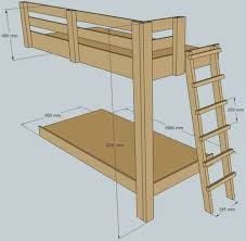Bunk Bed Ladder Plans One Legged Bunk Bed Bunk Bed Plans Bed Plans And Bunk Bed
