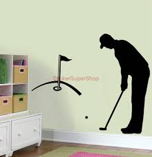 Golf Home Decor Golf Wall Art Decals Color The Walls Of Your House
