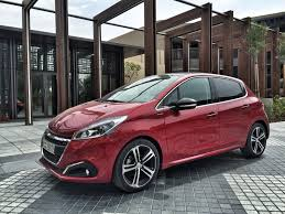 2016 peugeot 208 gt line a stylish personal hatchback rearview