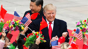 the art of flattery asia woos trump with show of pageantry