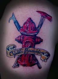 27 best fire firefighter tattoo designs images on pinterest