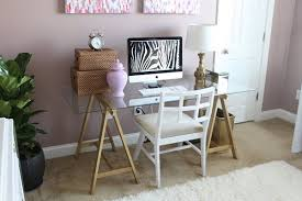 Home Office Glass Desks Chic Diy Computer Desk Ideas