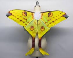Halloween Costume Fairy Wings Io Moth Costume Wings Fairy Wings Halloween Costume Moth