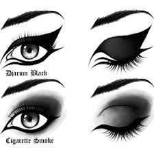 black eye makeup is all time and most applied makeup of all it s black in all its chic glory even it s about going to a party or a rave party