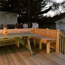 deck bench design ideas bench decoration