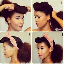 natural pin up hairstyles for black women 13 best vintage afro hair images on pinterest hair dos natural