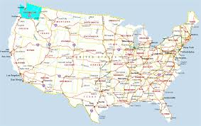 Canada On A Map Download Map Usa Seattle Major Tourist Attractions Maps Seattle