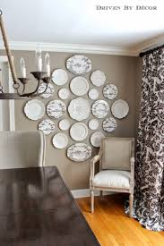 Dining Room Wall Art Ideas Best 25 Plate Wall Decor Ideas On Pinterest Plate Wall Plates