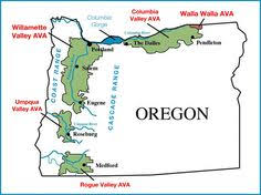 us oregon wine region by wine educators wine maps