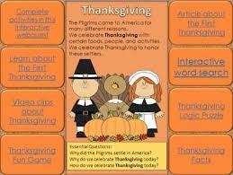 45 best november lesson plans images on thanksgiving