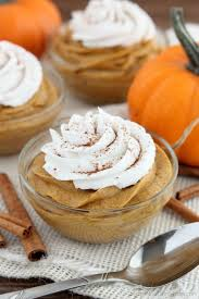 this lightened up pumpkin mousse is gluten and dairy free and
