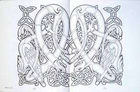 painting book t0012 the book of kells painting book by aidan meehan
