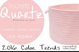 pantone rose quartz color trends rose quartz and pantone