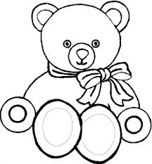 picture teddy bear coloring color luna