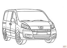 peugeot expert peugeot expert coloring page free printable coloring pages