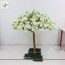 wedding trees uvg chr037 white cherry blossom trees wedding tree centerpieces