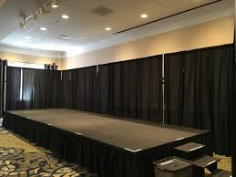 drape rental portable stage rentals in nj cmt sound systems