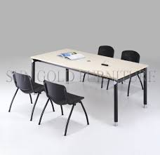 Board Meeting Table Modern Office Board Discussion Meeting Room Conference Table