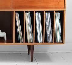 mid century record cabinet vintage swedish teak record cabinet mid century by hindsvik