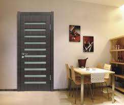 interior dark brown wooden interior door designs for homes with