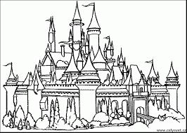 castle coloring pages sheets 2270