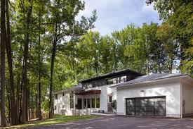 Convert Split Level To Rambler Entry Gary Rosard Architect Millburn Nj Comfortable Modern Homes