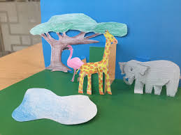 lp kids activity make a pop up safari scene u2013 lonely planet blog