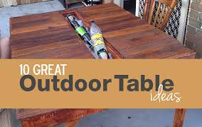 outdoor table ideas outdoor table ideas mixed stew
